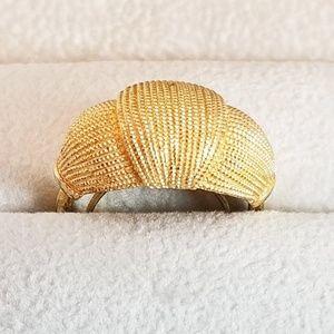 Vintage Gold Tone Classic Avon Ring